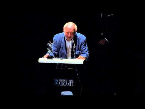 """Álvaro de Luna premio  """"Toda una vida""""  12º Festival Cine Alicante"""