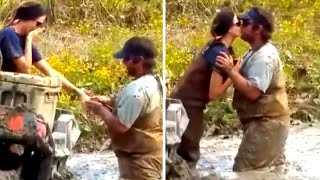 Why Being Stuck in the Mud Inspired This Man to Propose