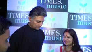 Ravi Sharma, Vivek Prakash, Rekha Bharadwaj interview at launch of Moonlight Whispers music album