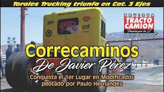 ARRANCONES DE TRACTOS EN EL AUTODROMO TIJUANA, Agosto 2019