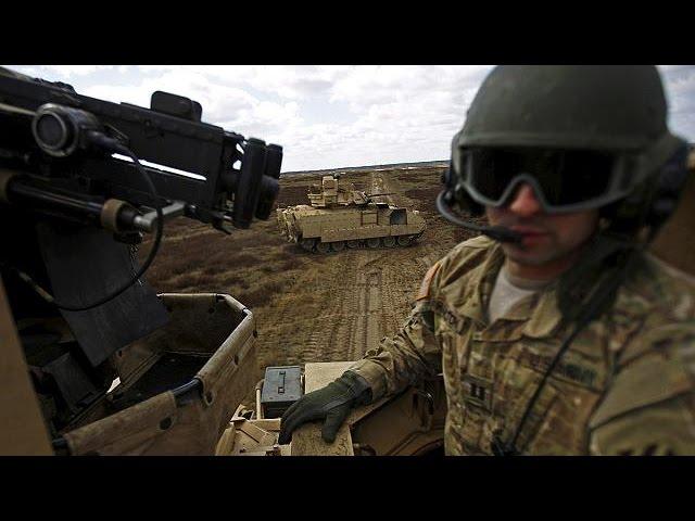 А может это своего рода программа переселения?) Пентагон рассказал о том, что будет хранить в Прибалтике тяжелое вооружение