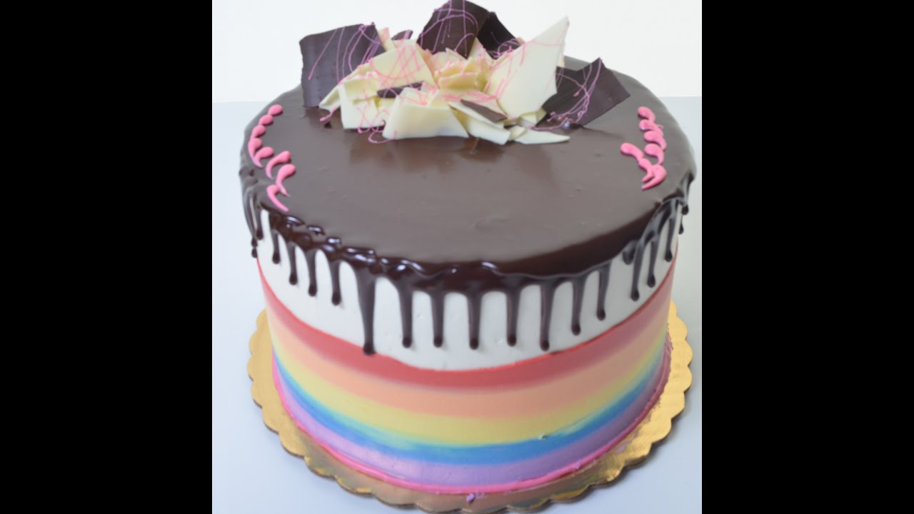 How to make a ultimate birthday cake decorating tutorial youtube - How to make decorative cakes ...