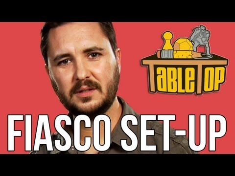TableTop - Fiasco Set-Up
