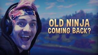 Old Ninja Is Back?! thumbnail
