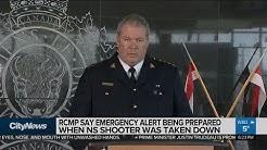 Emergency alert being written when Nova Scotia shooter killed: RCMP