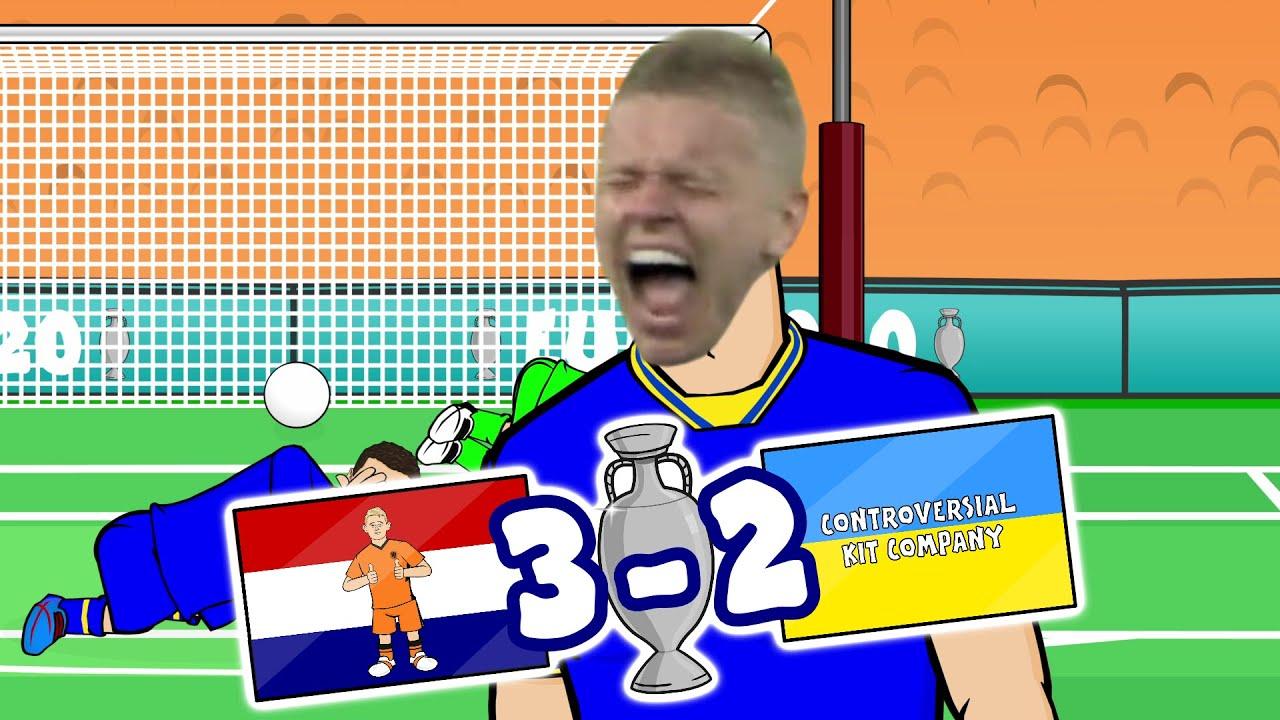 😱3-2! Zinchenko Screams!😱 (Netherlands vs Ukraine 3-2 Euro 2020 Day 3 Goals Highlights)