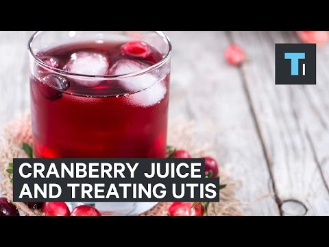 No, Cranberry Juice Can't Treat Your Urinary Tract Infection