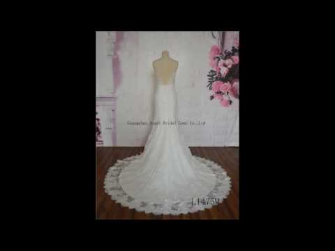 Guangzhou angel bridal gown factory new style 20161205