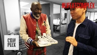 OMAR FROM THE WIRE WANTS MY YEEZY ZEBRA V2's! | #LIFEATCOMPLEX