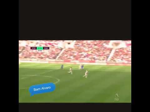Download Alvaro Morata Hattrick VS Stoke City