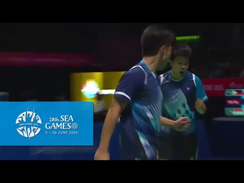 Badminton SIN vs PHI (Day 8) | 28th SEA Games Singapore 2015