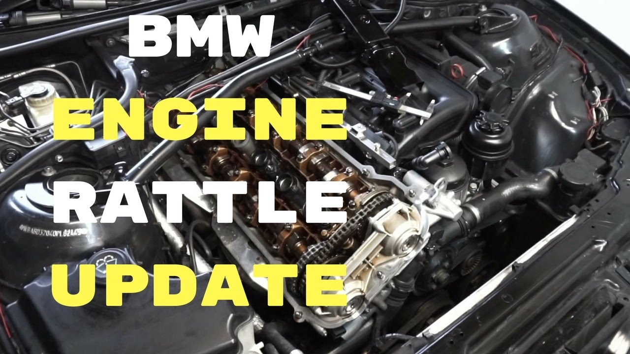 BMW e46 ENGINE RATTLE LIFTER NOISE UPDATE-camshaft trays SWAP