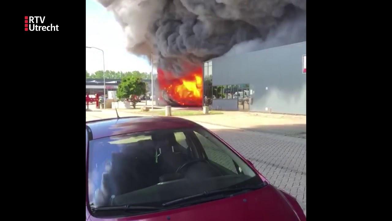 Grote brand bij meubelmakerij Culemborg [RTV Utrecht ...