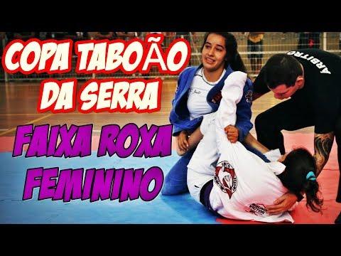 JIU JITSU / Faixa ROXA / Feminino /TABOÃO DA SERRA DE JIU-JITSU.
