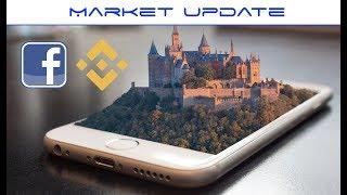 Market Update - Facebook Cryptocurrency, Binance Exchange Down, Airswap Whales,