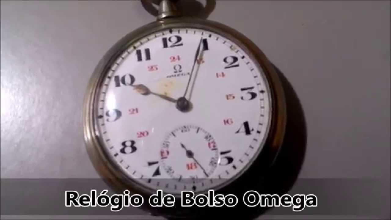394c34bd724 Relógio de Bolso Omega - YouTube