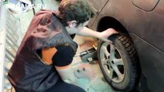 видео Подсветка дисков автомобиля своими руками