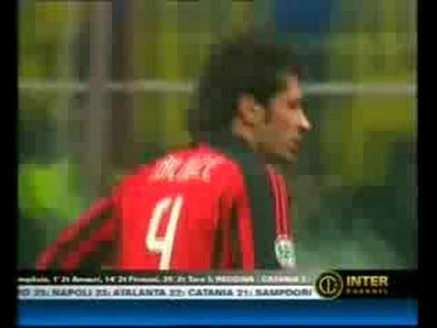 inter-milan 2-1 derby 23/12/2007