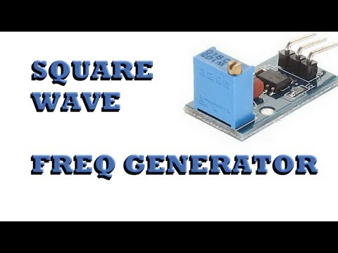 Square Wave Frequency Generator overview, modification, and demonstration.