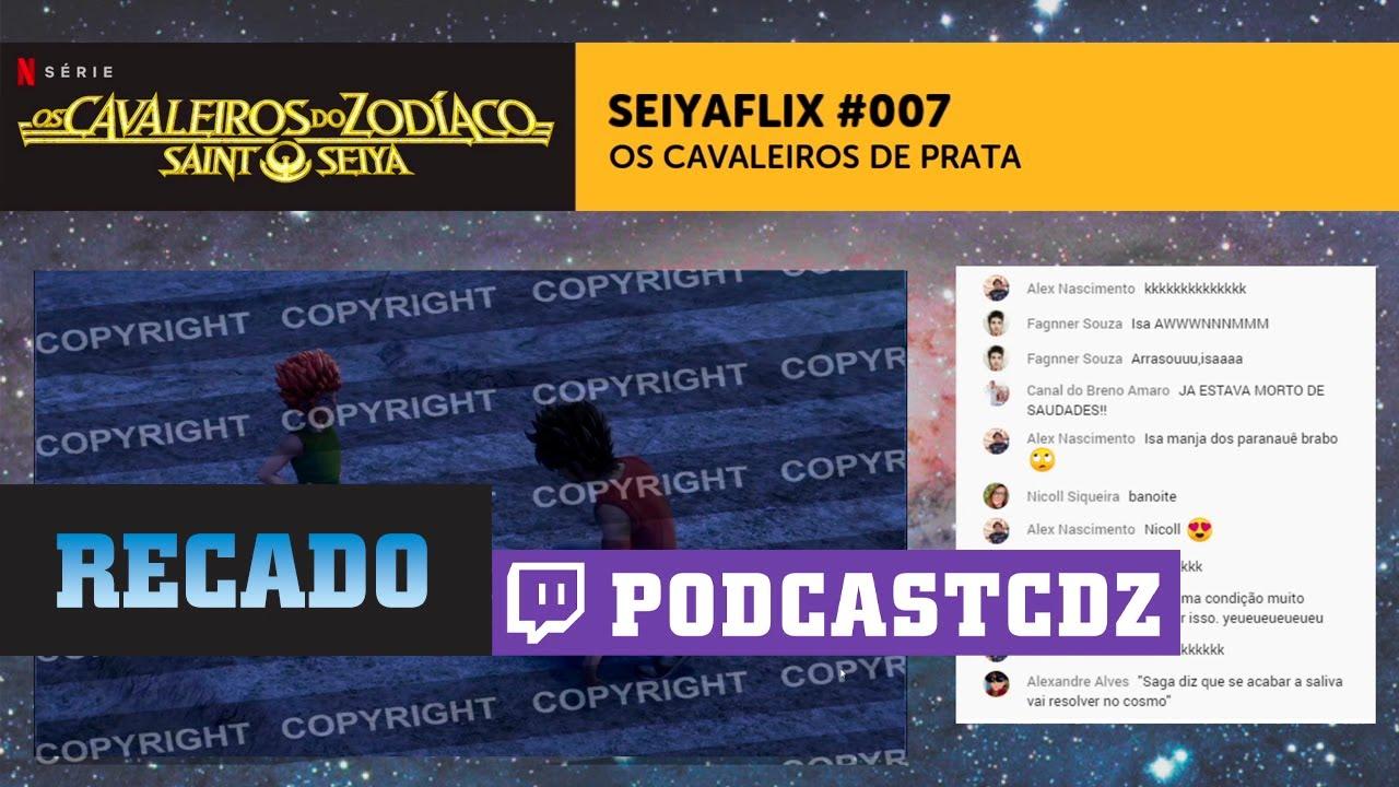 Recado Sobre as Lives do Canal — Segue na Twitch! t.tv/podcastcdz