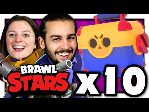 ON A CRAQUÉ... ON OUVRE 10 MEGABOITES ! | PACK OPENING BRAWL STARS FR