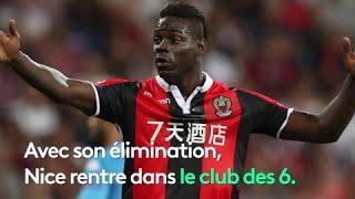 Nice dans le club des 6 équipes françaises éliminées en barrages de la C1