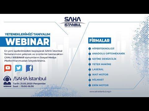 SAHA İstanbul Makine ve Diğer İmalat Ekipmanları Komitesi 21.05.2020 Tarihli Canlı Yayını