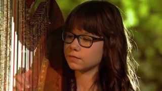 Marcelina Dąbek i blues na harfie! | SuperDzieciak