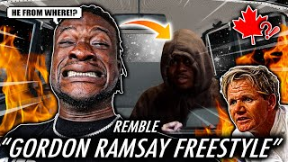 """IS REMBLE NEXT UP!?   REMBLE - """"Gordon Ramsay Freestyle"""" (OFFICIAL MUSIC VIDEO) REACTION"""
