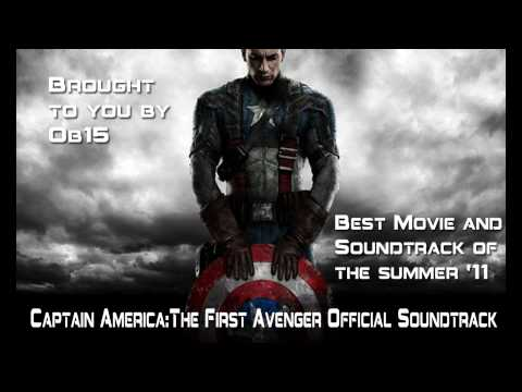 Captain America:The First Avenger Official Movie Soundtrack {HD}