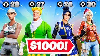 Most Eliminations = $1000 (PWR Fortnite Challenge)