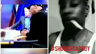 #breakingnews #showercapguy LIVE interview with #LavarBall about his Lonzo being better than LeBron