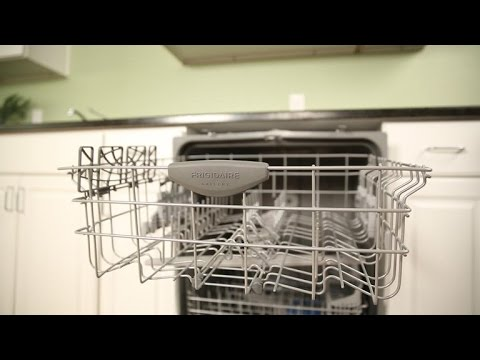 frigidaire s top rack bottoms out