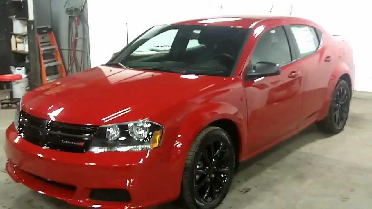 2013 Dodge Avenger BlackTop Landry Auto Laval Dodge - YouTube