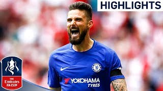 Chelsea 2-0 Southampton  Great Solo Goal by Giroud Sends Chelsea to Final  Emirates FA Cup 1718