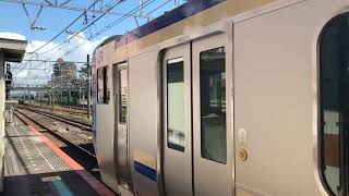 e235 系1000番代 総武本線試運転津田沼発車