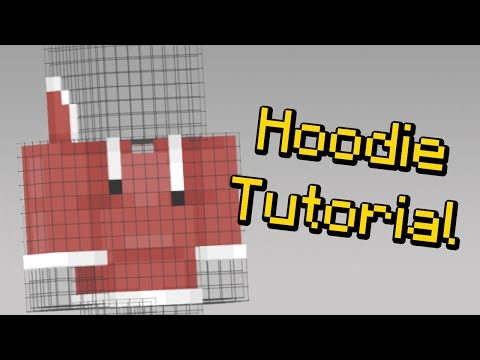 How To Make A Hoodie On Your Minecraft Skin Youtube