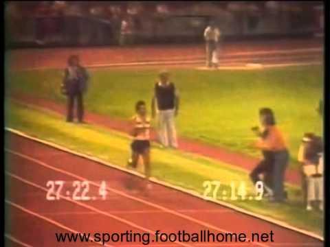 Atletismo :: Mamede bate recorde da Europa dos 10000m em Paris a 09/07/1982