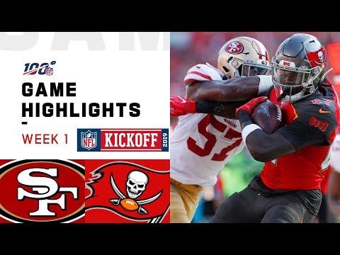 49ers vs. Buccaneers Week 1 Highlights | NFL 2019