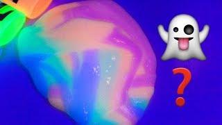 Karanlıkta İçinden Işık Çıkan Slime !! Make Slime - Bidünya Oyuncak