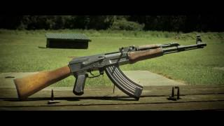 AK 47 slow motion