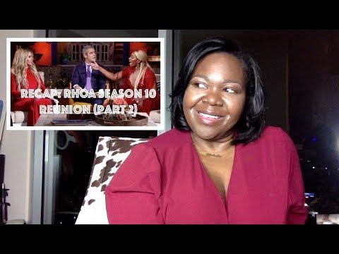 ATLien LIVE!!! RECAP: Real Housewives of Atlanta Season 10 Reunion (Part 2)