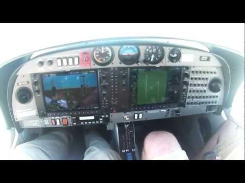DA40 runup checklist and take off VIO POV HD Test with audio