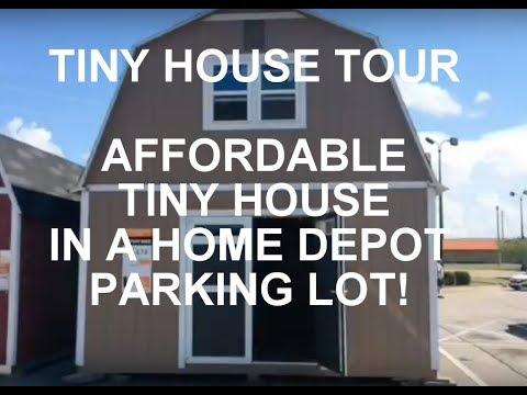 Home Depot Tiny House Tour!