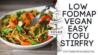 Easy Tofu Stir Fry Recipe / The Irritable Vegan