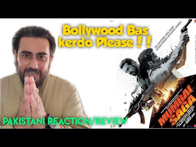 Mumbai Saga Trailer Review | Mumbai Saga Reaction | IAmFawad