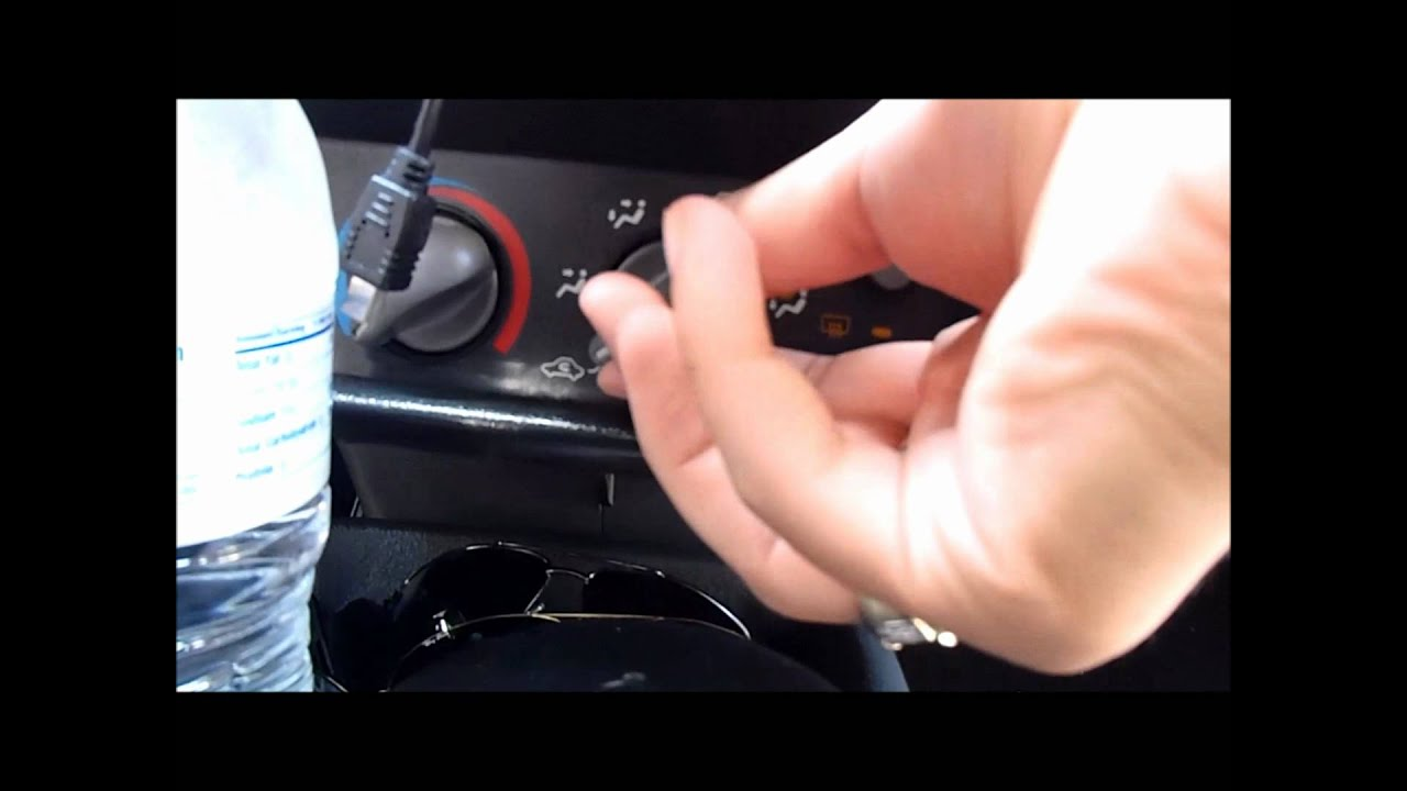 Fix Knocking Sound From Dash 04 Pontiac Sunfire Or
