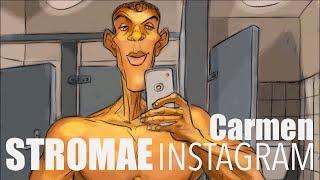 STROMAE débarque sur INSTAGRAM et dévoile des images du clip de CARMEN