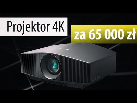 Test SONY VPL-VW760 - Projektor laserowy 4K za 65 000 zł!