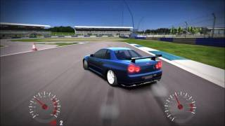 CarX drift racing PC gameplay nissan skyline r34